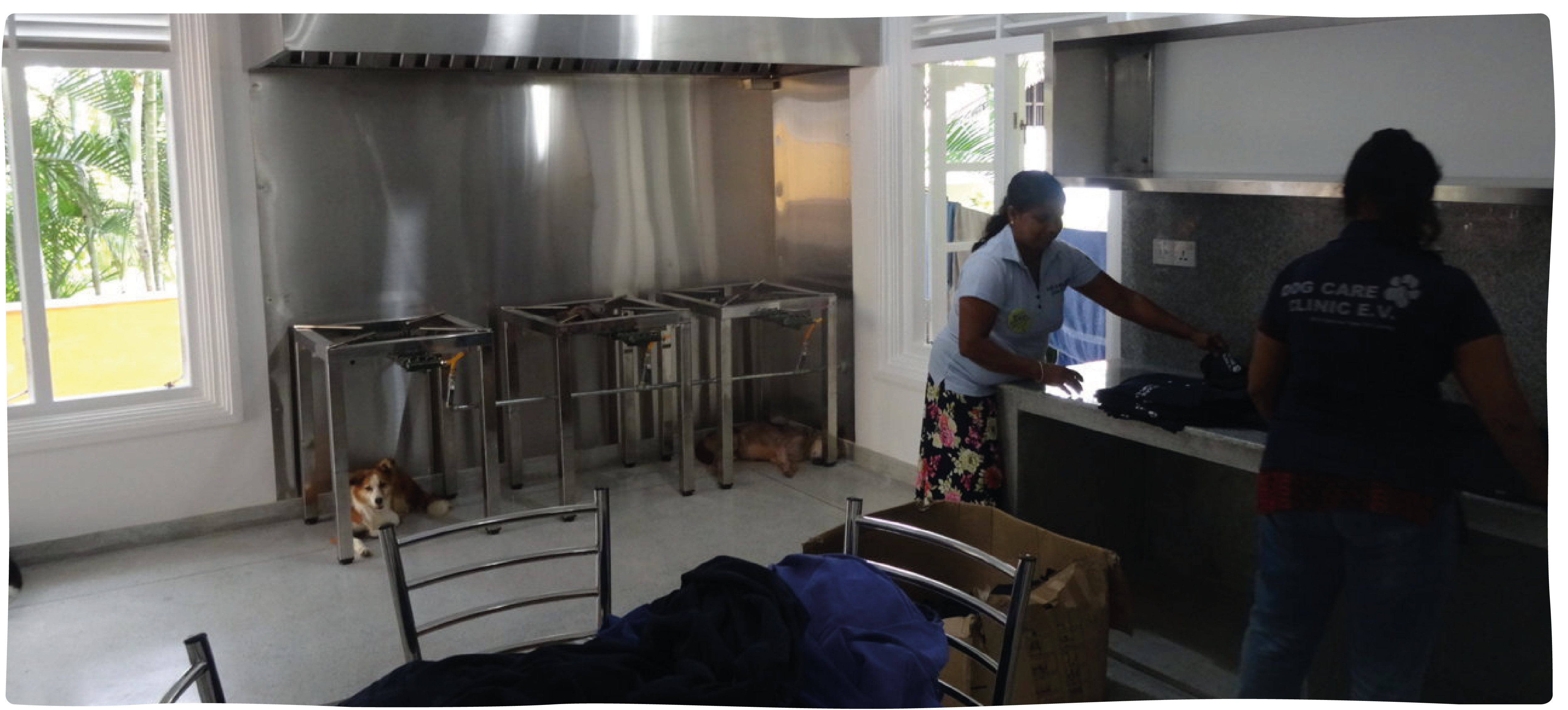 In 2018 we funded the build of a fully equipped kitchen, offering a much safer and more hygienic environment to prepare meals.
